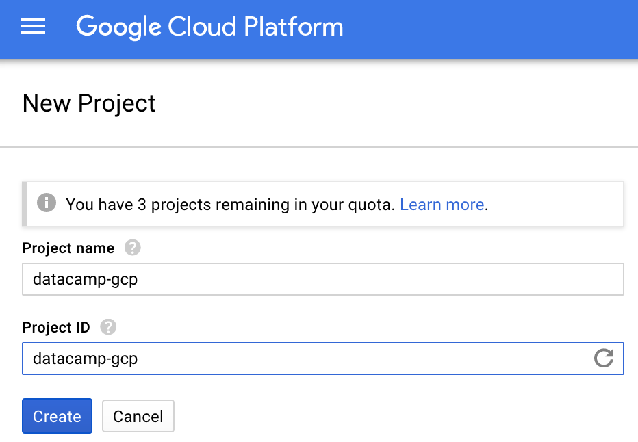 Setting Up Google Cloud For Data Science (article) - DataCamp