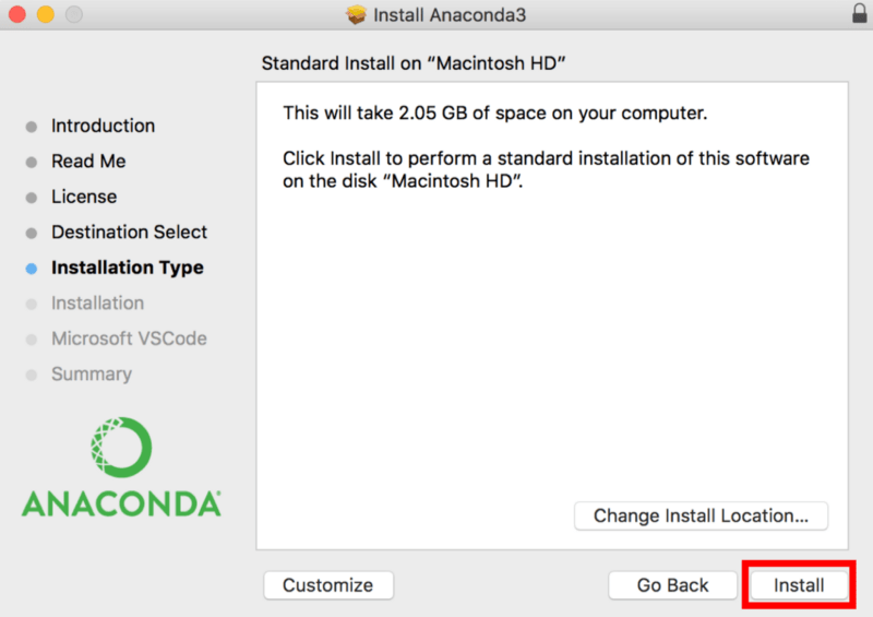 How to Install Anaconda on Mac OS X (article) - DataCamp