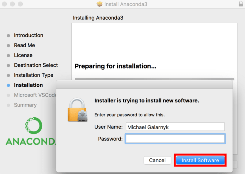 Install anaconda on mac brew | Peatix