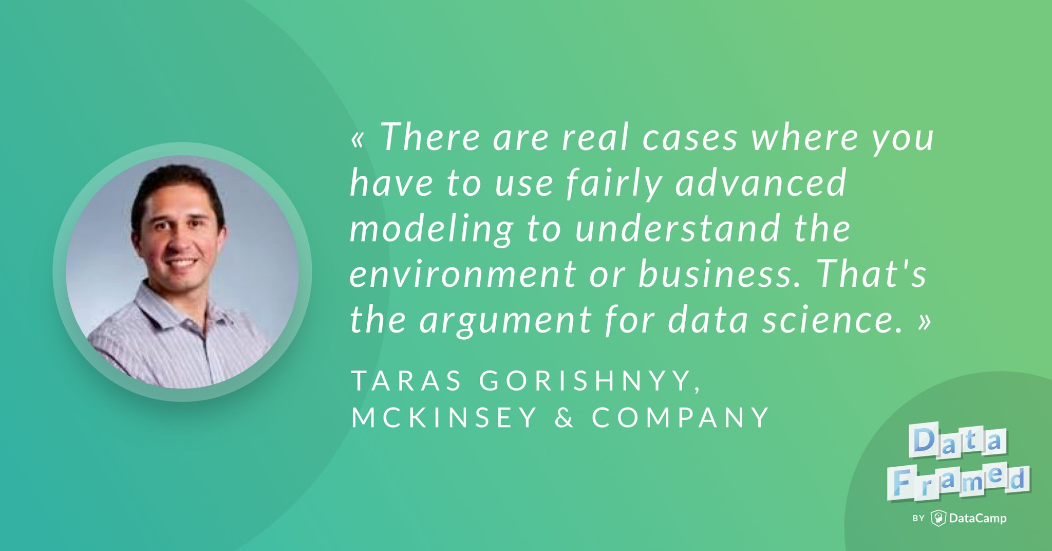 Data Science at McKinsey (Transcript) (article) - DataCamp