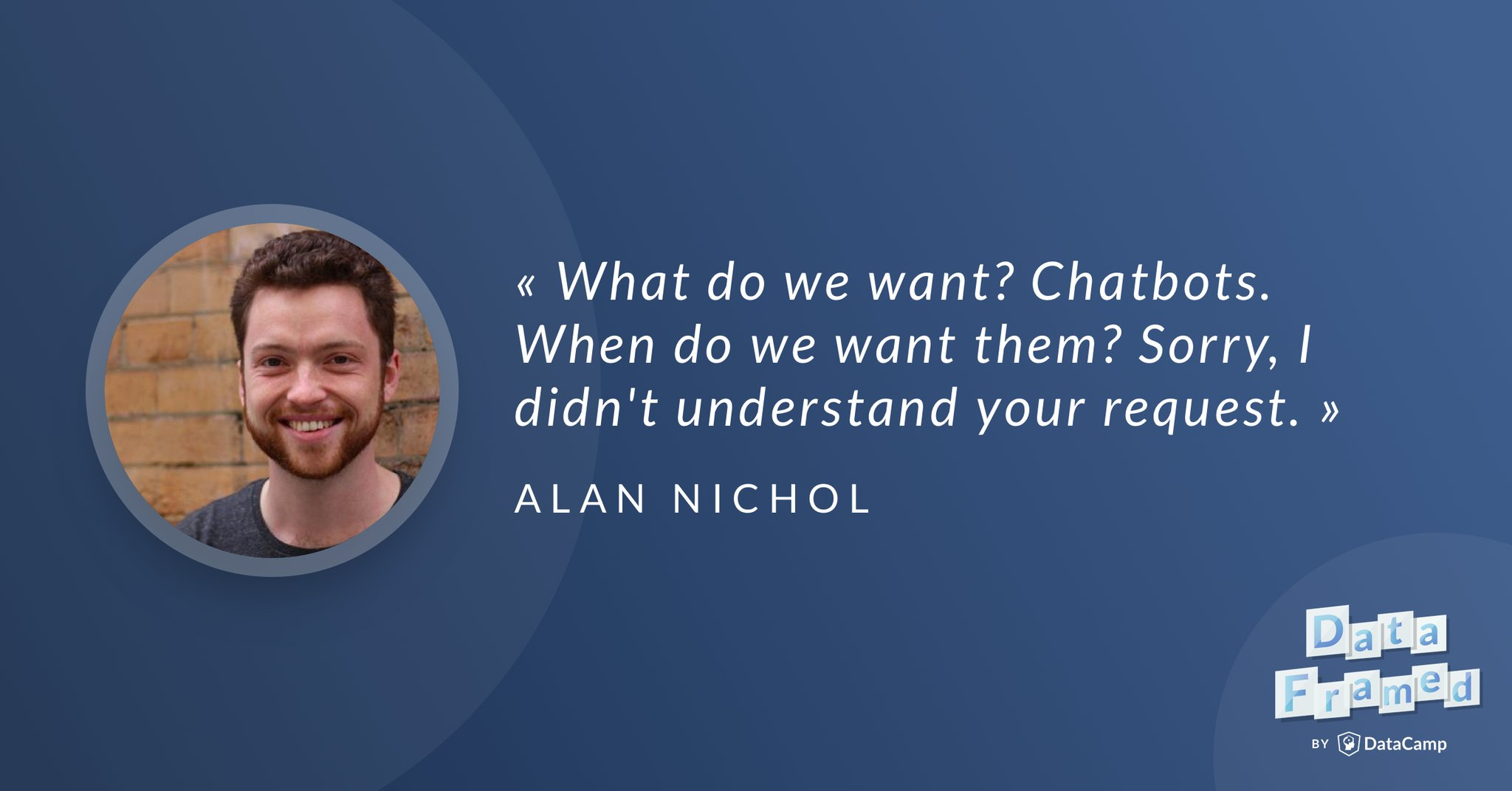 Chatbots, Conversational Software & Data Science (article) - DataCamp