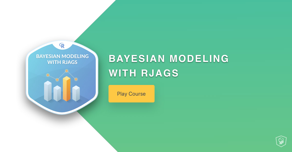 New Course: Bayesian Modeling with RJAGS