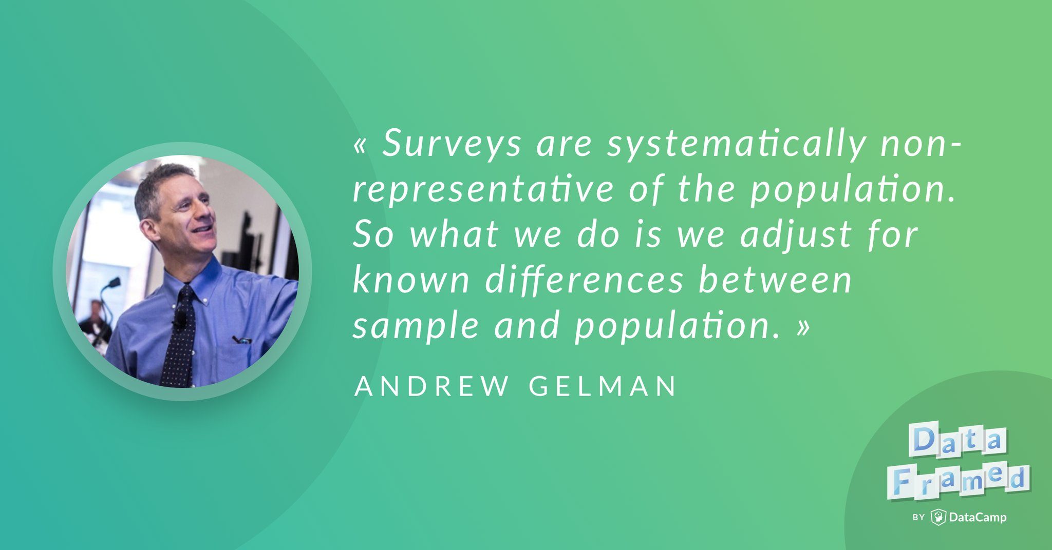 Andrew Gelman  discusses election forecasting and polling. (Transcript)