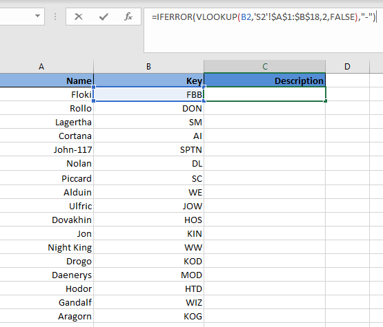 Data Wrangling with VLOOKUP in Spreadsheets (article) - DataCamp