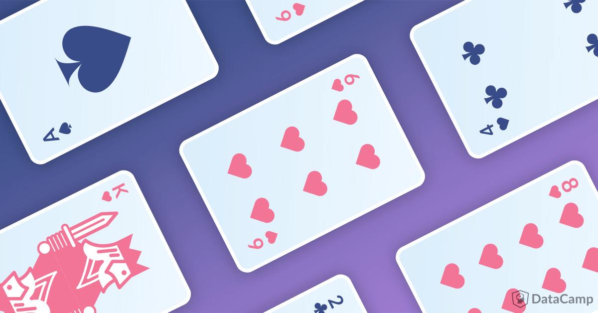 Poker Card Banner