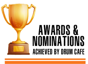 team building Awards & nominations achieved by Drum Cafe