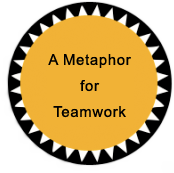 icon A metaphor for teamwork