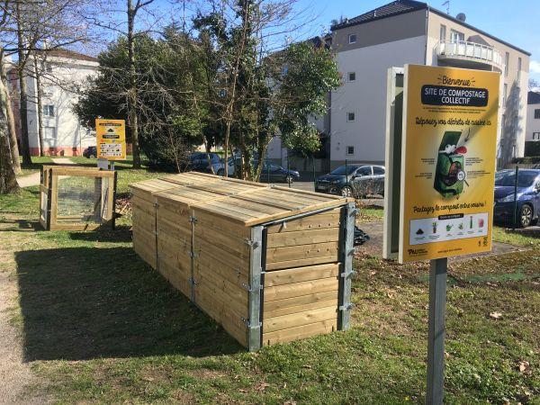 Photo du site de compostage PARC RESIDENCE