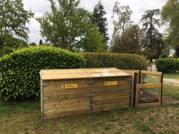 Photo du site de compostage Parc Beaumont