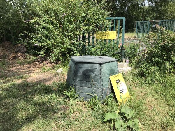 Photo du site de compostage Jardin partagé Marsan