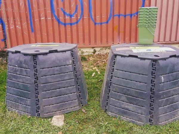 Photo du site de compostage L'Arrosoir