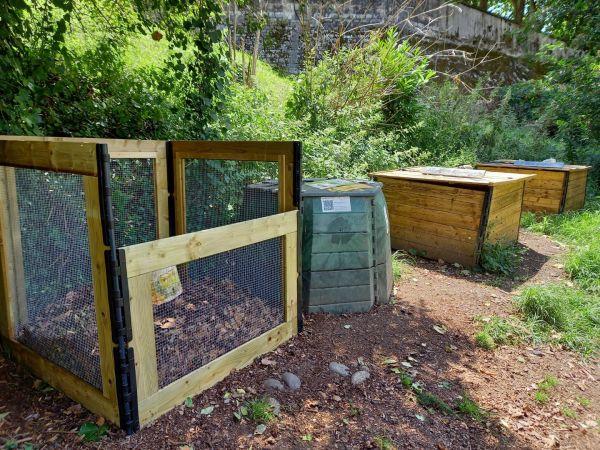 Photo du site de compostage HEDAS 1