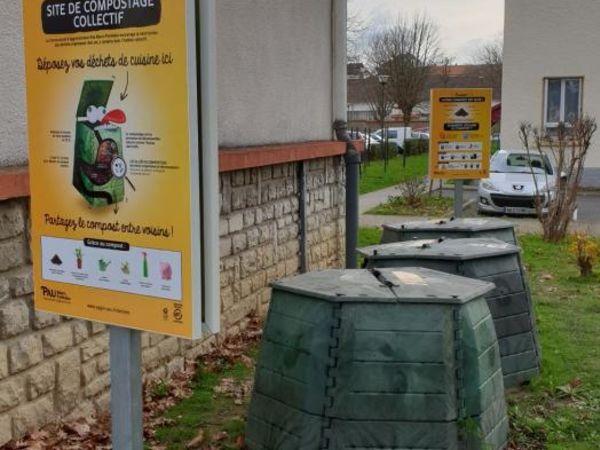 Photo du site de compostage DOUMER
