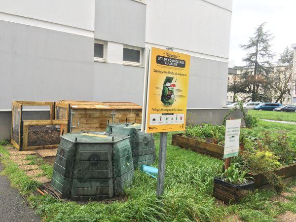 Photo du site de compostage CARLITOS