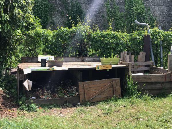 Photo du site de compostage Jardin partagé Guynemer