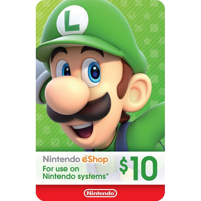 Nintendo eShop Gift Card - 10 USD - North America