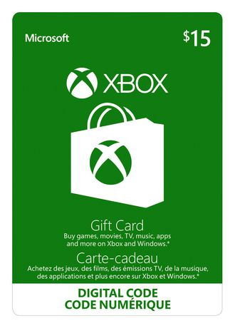 Xbox Live eGift Card - 15 USD - North America