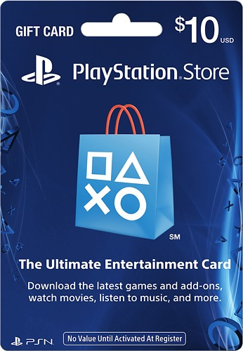 PlayStation Network eGift Card - 10 USD - North America