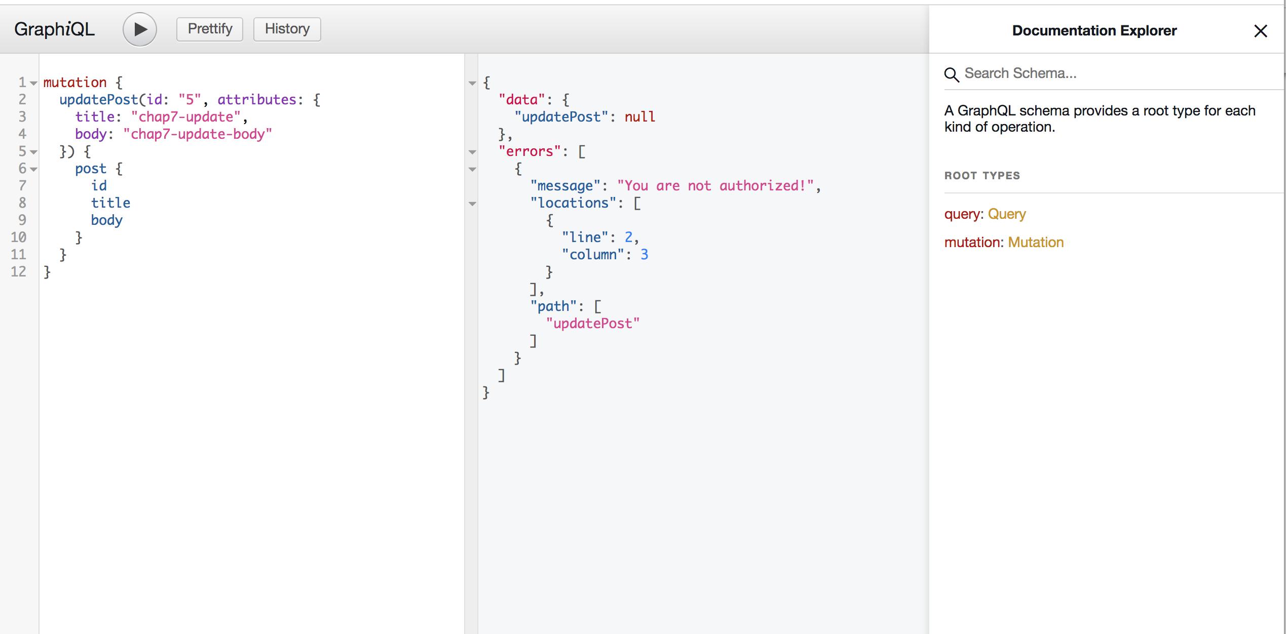 Authorization - GraphQL Ruby CRUD Tutorial