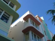Miami South Beach Art Deco detail