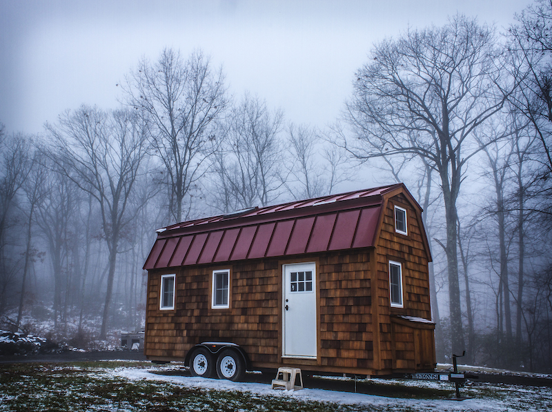 tiny house on wheels, New England