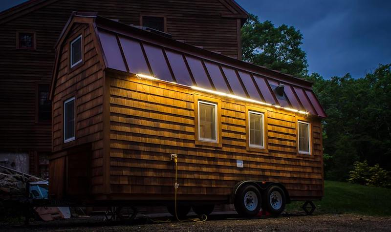 tiny house outdoor LED lighting