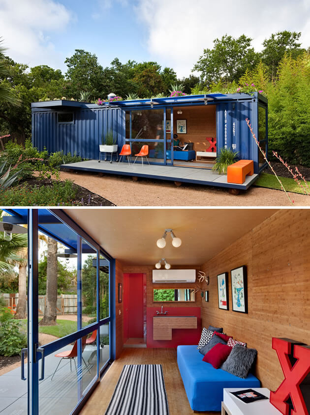 Thinking Inside The Box Shipping Containers Turned Into Designer