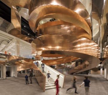 Experimentarium helix stairs, Adam Mork