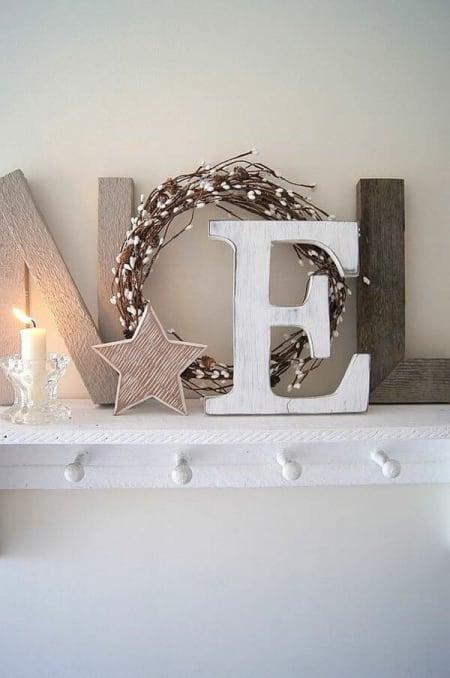 Scandinavian Christmas Interior