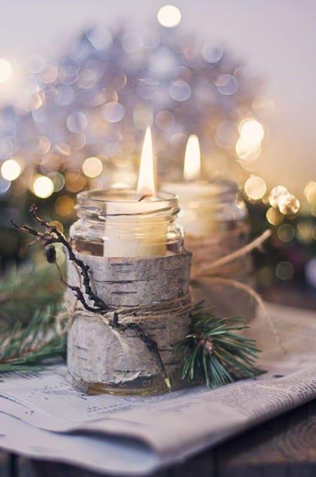 Christmas Decor candles