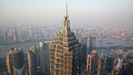 Jin Mao Tower, Shanghai Art Deco