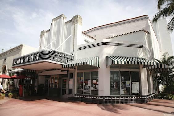 Colony Theatre, Miami Art Deco