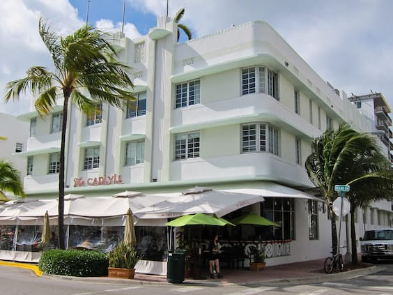 The Carlyle, Miami South Beach Art Deco