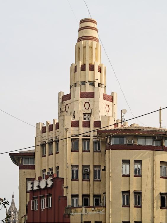 Eros Cinema, Mumbai Art Deco