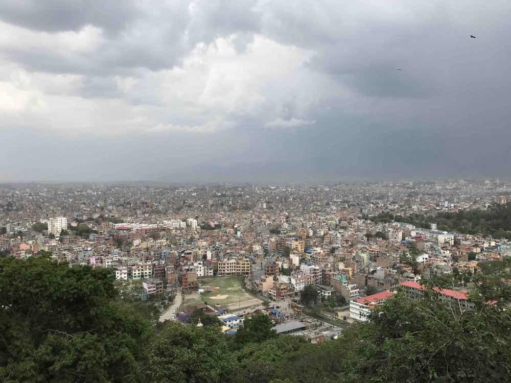 vue de Katmandou