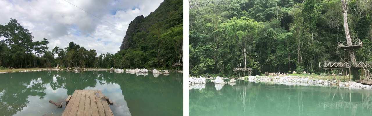 blue lagoon 3 à Vang Vieng