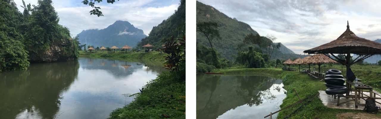 le meilleur blue lagoon de Vang Vieng