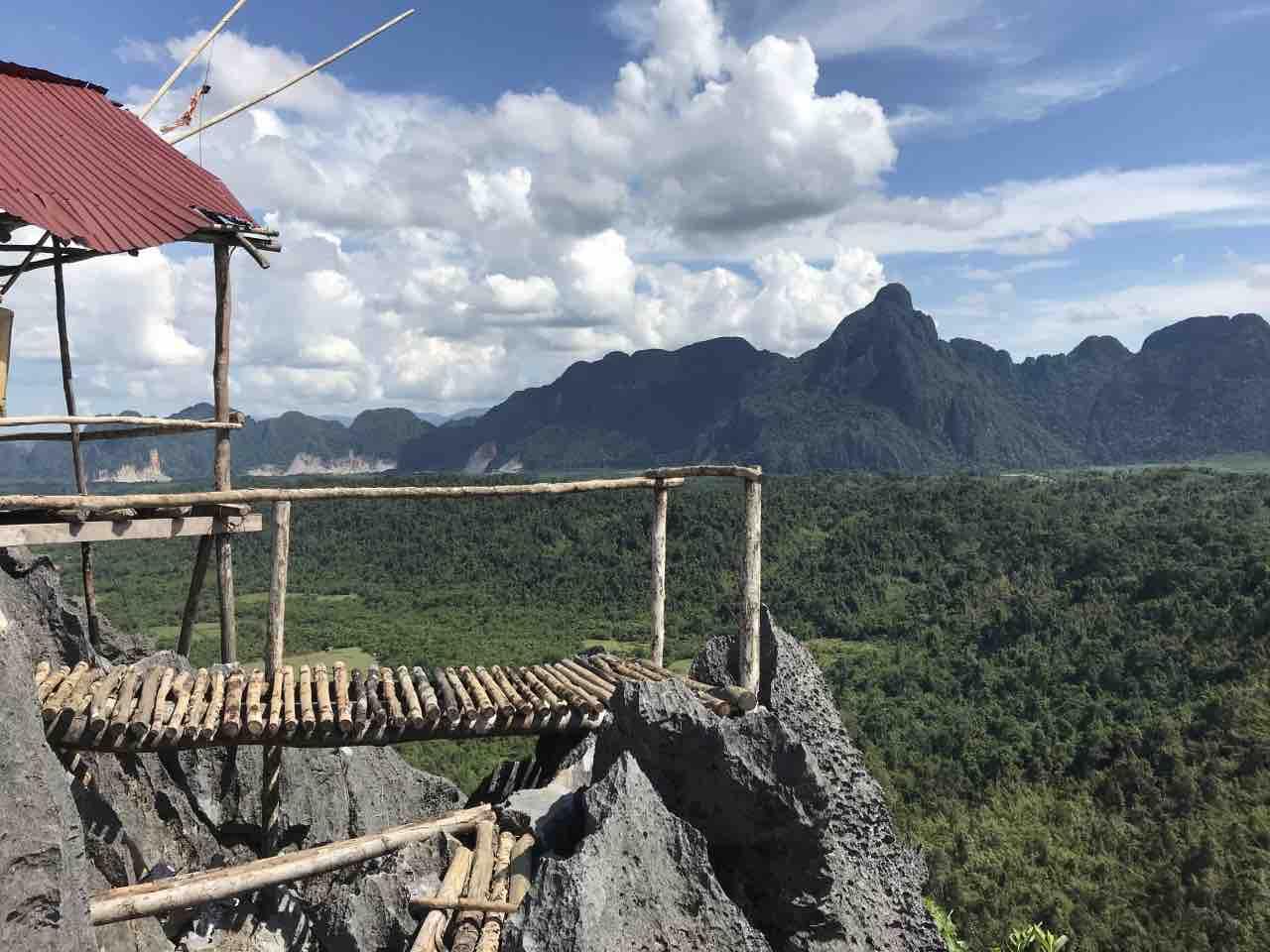 le plus beau panorama de Vang Vieng