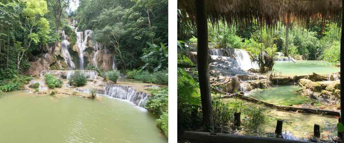 visite des chutes de Kuang Si à Luang Prabang