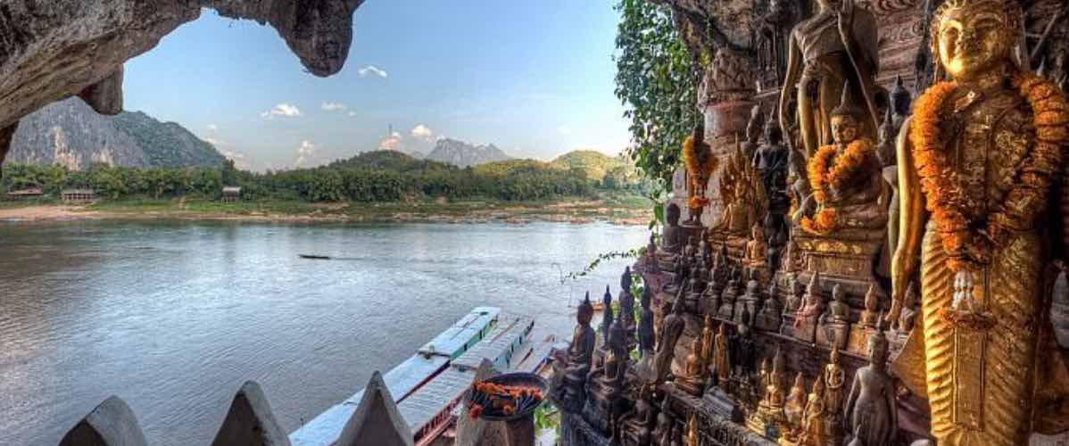visiter grotte de pak ou à Luang Prabang