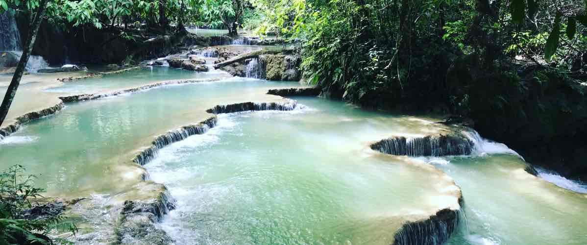 chutes de Kuang Si au laos