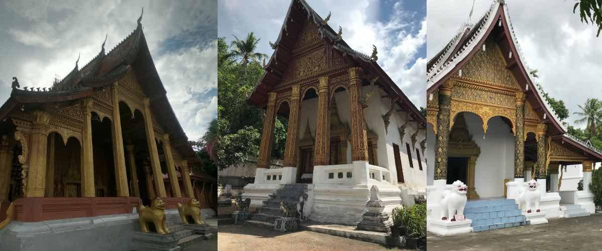 temples à Luang Prabang