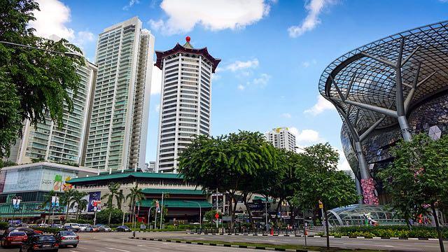 Orchard road blog de voyage Singapour