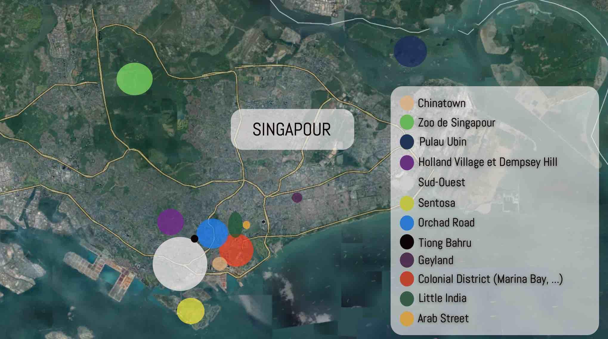 plan ville de singapour blog de voyage