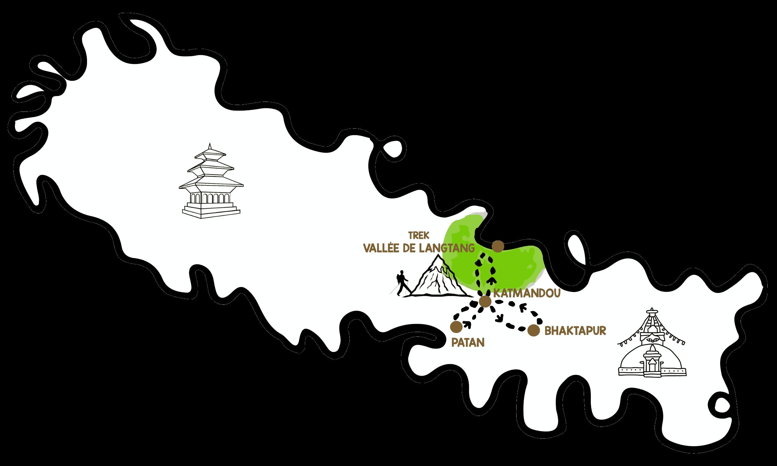 itinéraire népal voyage