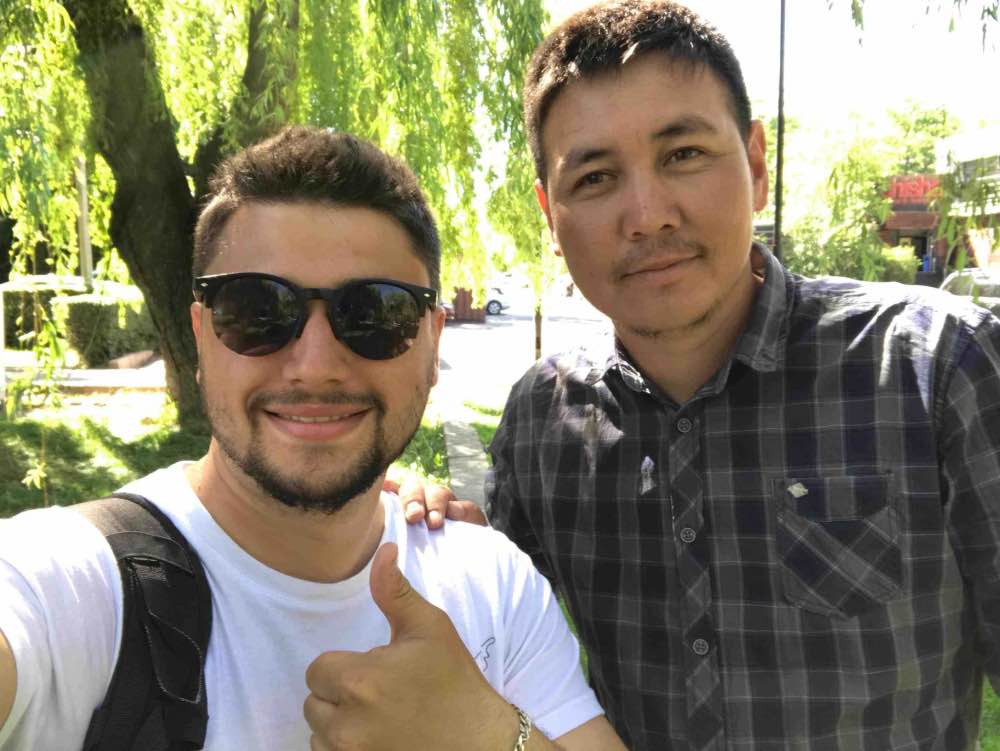 guide francophone au kirghizistan