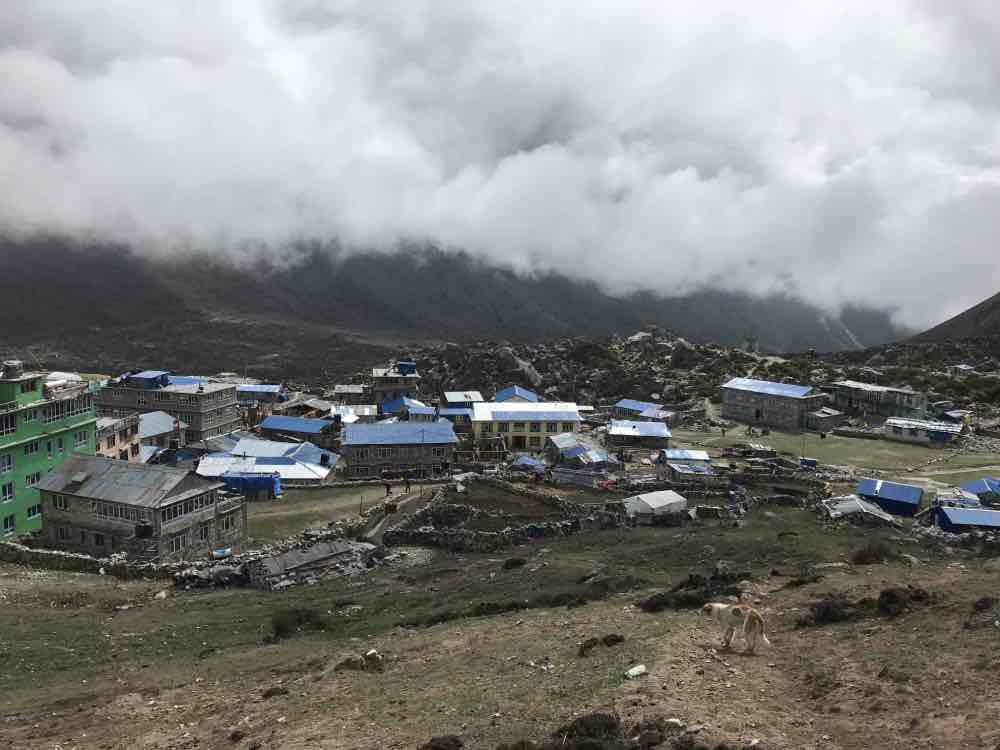 village Kyanjin Gumpa vallée de Langtang au Népal