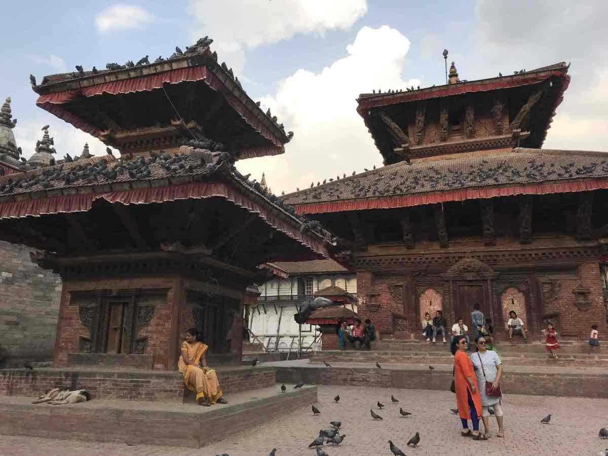 Durbar Square à Katmandou