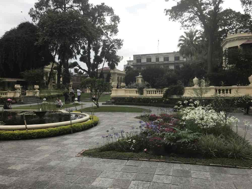 Jardin des rêves à Katmandou