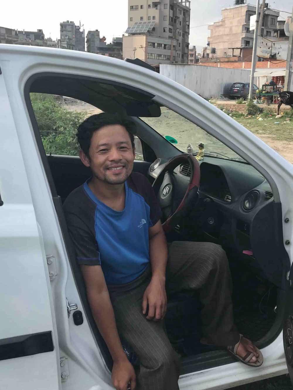 transport Népal à Katmandou